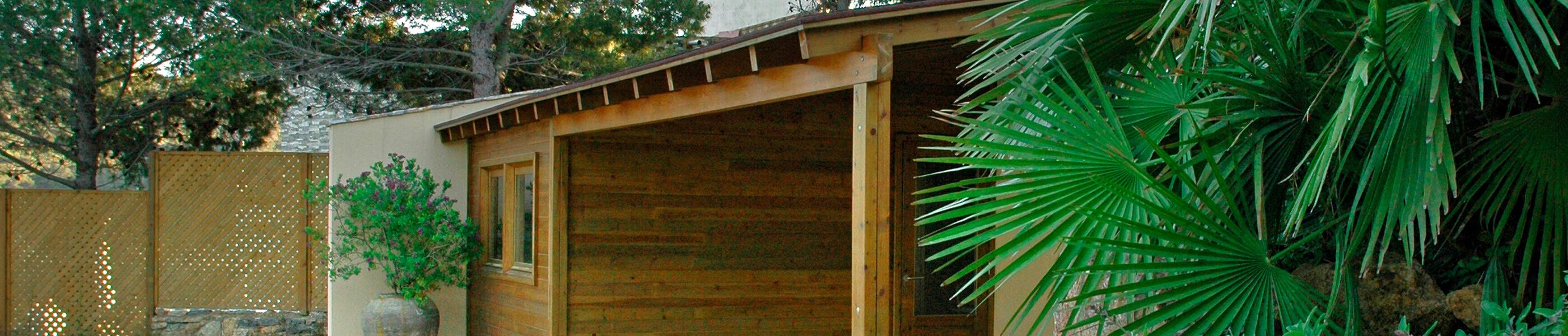 La Pèrgola - Madera para construcciones de exterior